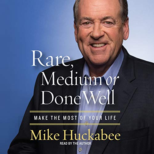Rare, Medium or Done Well audiobook cover art