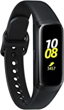 Samsung Galaxy Fit 2019, Smartwatch Fitness Band, Stress & Sleep Tracker, AMOLED Display, 5ATM Water Resistance, MIL-STD-810G, Bluetooth Active SM-R370 - International Version (Black)