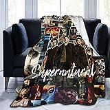 Manta supernatural suave y ligera, adecuada para sofá, cama, oficina, transpirable y cálida para aire acondicionado (S7, 135 x 200 cm)