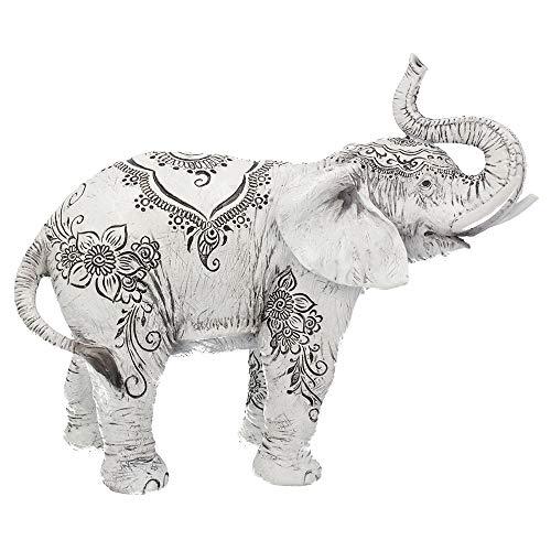Nemesis Now Henna - Figura Decorativa (22 cm), Color Blanco