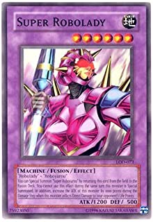 2003 Legacy of Darkness 1st Edition # LOD-73 Super Robolady / Single YuGiOh! Card in Protective Sleeve