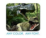 Custom Photo Mouse Pad- Personalized Mousepad - T-Rex Dinosaurs Raptor Office Desk Accessories Cubicle Desk Decor - 8.7x7.1 inches