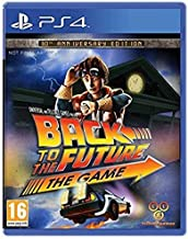 Back to the future PlayStation 4 by Telltale Games