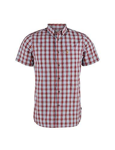 FJÄLLRÄVEN fjallaven Övik SS Shirt, Herren XL rot (Deep Red)