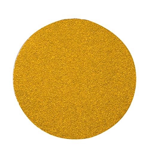 Mirka Gold - Papel de lija universal (diámetro de 77 mm, velcro, P240, 50 unidades)