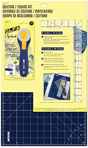 OLFA NBL Quilting and Sewing Kit Navy Blue 3 Piece product image