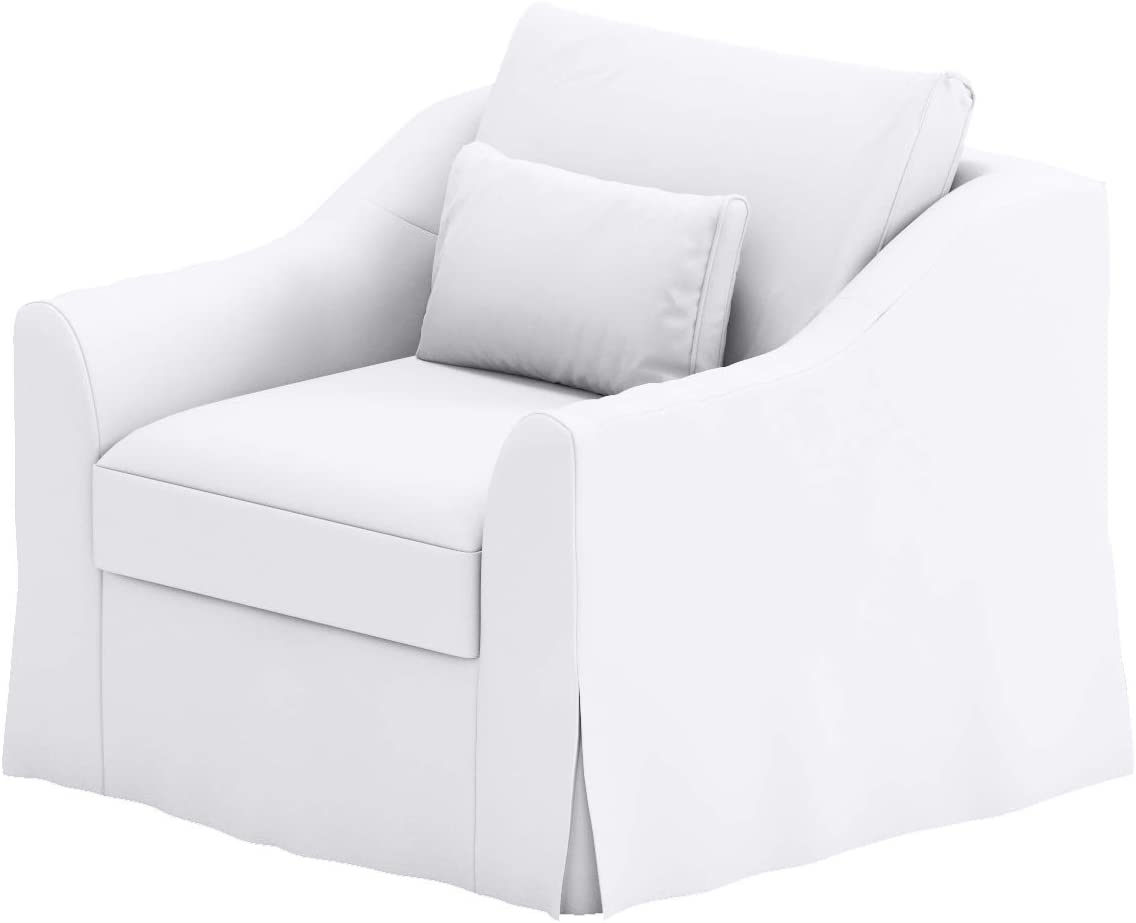 Heavy Cotton Farlov Armchair Time sale Genuine Free Shipping Replacement Compatible f Cover Made