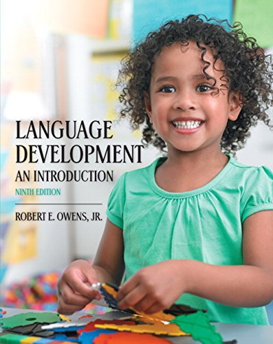 Language Development: An Introduction (9th Edition)