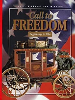 Call to Freedom: Beginnings to 1914