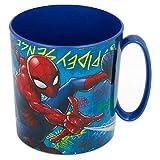 ALMACENESADAN 2576; Tazza in Spiderman; Testa di Spiderman; capacità 410 ml