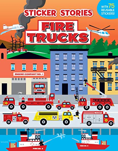 Top firefighter stickers for kids for 2021