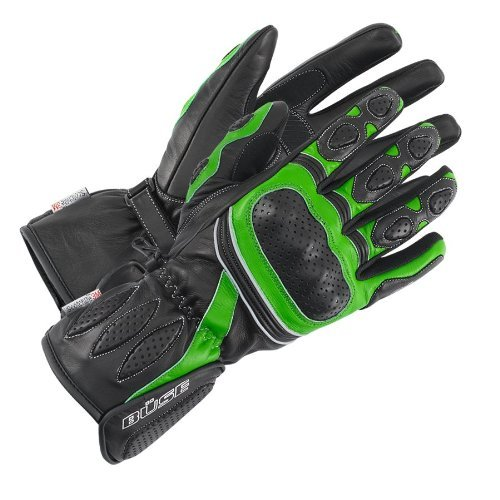 Büse Pit Lane Handschuh, Farbe schwarz-grün, Größe 2XL / 11 by Büse