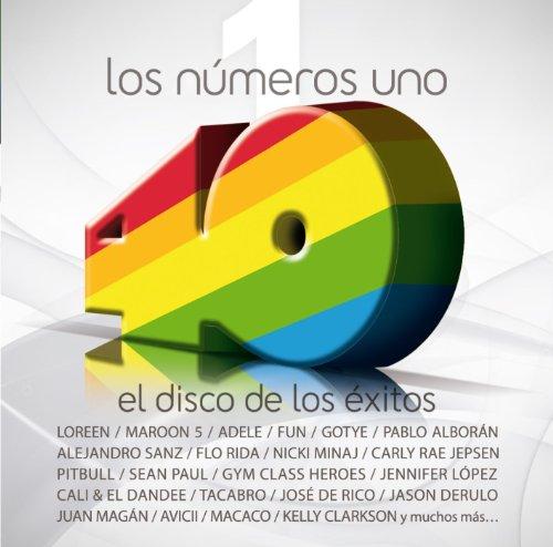 Los nº 1 de 40 Principales. El disco de los éxitos (2012)