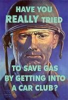 ERZAN1000ピース木製パズルWPA戦争プロパガンダあなたは本当に自動車クラブに入ることによってガスを節約しようとしましたか大人パズル のすべ