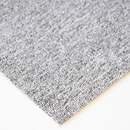 Steffensmeier Teppichboden Meddon Meterware | Auslegware für Kinderzimmer Wohnzimmer Schlafzimmer | Grau, Größe: 400x500 cm