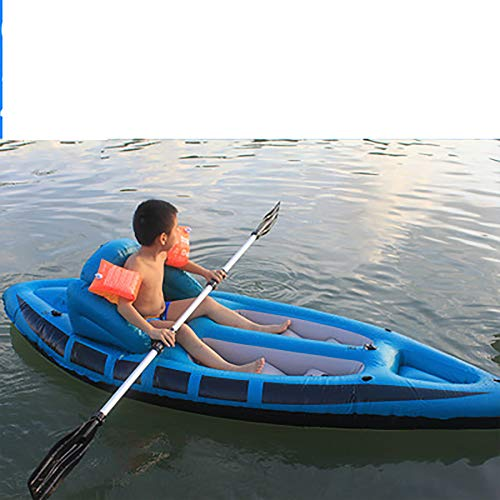 Sideuto Kayak Gonfiabile Kayak da Pesca Kayak Gonfiabile Breve Viaggio Kayak Professionale Due Kayak Gonfiabile Tre Canoa Ispessita Kayak Pompa d'Aria ad Alto rendimento Kayak Sicuro e conveniente
