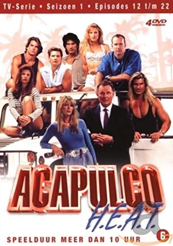 Acapulco H.E.A.T.- Season 1 (Ep. 12-22) - 4-DVD Box Set ( Agence Acapulco ) ( Acapulco HEAT - Season Two - Episodes Twelve to Twenty Two ) [ NON-USA FORMAT, PAL, Reg.2 Import - Netherlands ]