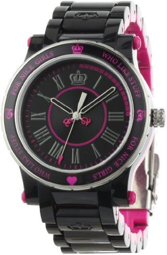 Juicy Couture de Negro para Niza la Reina niña Reloj de