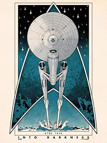 Star Trek INTO Darkness – Film Poster Plakat Drucken Bild - 43.2 x 60.7cm Größe Grösse Filmplakat