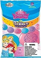 Party Banner Balloons 10 Count Disney Princess QuickLink Banner Balloons. 12-Inch [並行輸入品]