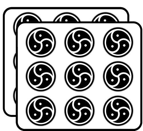 "BDSM Emblem Adult 2"" 18 Pack Planner Calender Scrapbooking Crafting Stickers"