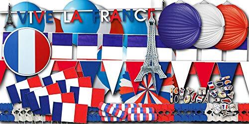 Frankreich Partydekoset groß - Partydekoset im Sparset