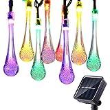 Luces de Cadena Solar, 4.5m 20LED Luces de Cadena de Hadas de...