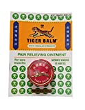 Tiger Balm Pain Relieving Ointment - 0.14 oz (4 g) - White Regular Strength