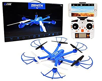 Ei-Hi® S19R Remote Control RC UFO Hexcopter Drone with FPV Camera