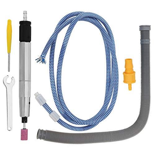 Bolígrafo abrasivo, aire comprimido, fácil de usar, amoladora micro de aire de bajo ruido, pulido de velocidad súper alta de 65000 rpm para talleres industriales