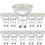Ampoules LED GU10 5W, LED GU10 Blanc Froid 6000K 450 Lumen équivalent 50W Halogène AC 220-240V,...
