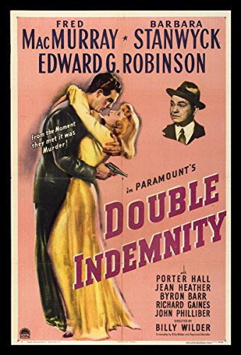 Gifts Delight Laminated 14x21 Poster: Movie Poster - Writing 39B Double Indemnity - Home