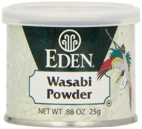 Eden Wasabi Powder, 0.88-Ounce tins (Pack of 6)