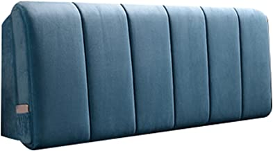 Headboard Cover All-Inclusive Bed Head Covers Dustproof Headboard Cover Bed Bedside Back Protector (Color : Blue, Size : 9...