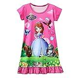 MoebaoSnow White Loose and Comfortable Pajama Female Princess Dress 3y - 8y
