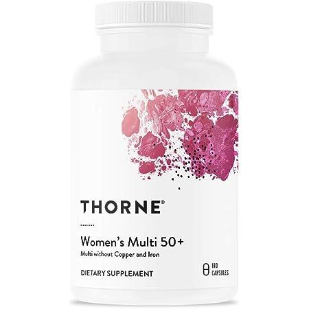 Thorne Research - Women's Multi 50+ - Comprehensive Daily Multi-Vitamin - 180 Capsules