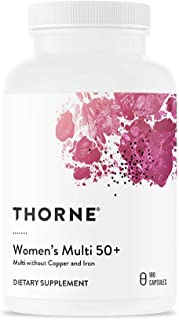 Thorne Research - Women's Multi 50+ - Comprehensive Daily Multi-Vitamin - 180 Capsules