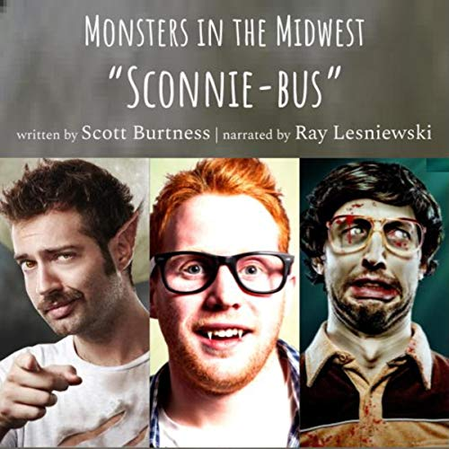 Monsters in the Midwest (3 Book Series) cover art