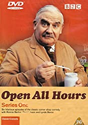 Open All Hours on DVD