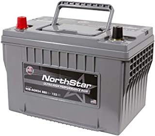 NORTHSTAR Pure Lead Automotive Group 34 Battery NSB-AGM34