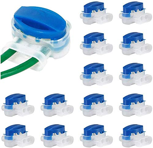 xingletu - Conector de cable eléctrico (20 piezas, relleno de resina sintética, conector original 314, conexión de cable eléctrico/terminales para robot motor cortacésped, jardín al aire libre