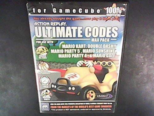 Action Replay Ultimate Codes MAX PACK: Mario Kart Double Dash, Mario Party 4 & 5, Mario Sunshine, Mario Golf: GAMECUBE Cheat Disk
