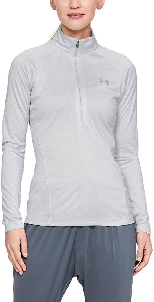 Under Armour Women's NEW before selling Tech Twist Sleeve ½ Long New York Mall Pullover Zip