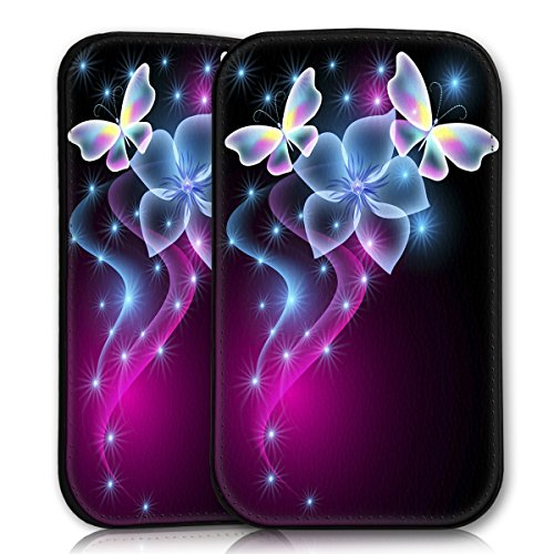 wicostar Sleeve Style Handy Tasche Hülle Schutz Hülle Schale Motiv Etui für Wiko Rainbow Jam - Sleeve UBS14 Design7
