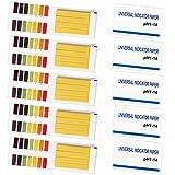 Yangfei 800 pezzi pH Strisce 1-14 Strisce Reattive per Test pH Indicatore Strisce cartine tornasole per Acqua Piscina Acquario quotidiano laboratorio