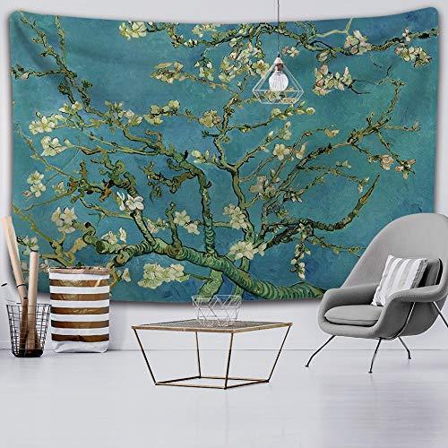 KHKJ Hermosa Planta Tapiz Tapiz de Pared Alfombra de Playa Tienda de campaña Almohadilla para Dormir decoración del hogar Tela de Fondo A8 200x150cm