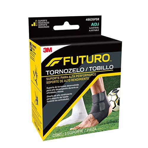 Futuro Sport Tobillera de control de humedad, soporte moderado, ajuste para ajuste
