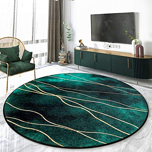 grön rund matta ikea