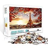 1000 Piezas Rompecabezas Juguetes Juego Regalola Torre Eiffel Mini Rompecabezasjigsaw Puzzles para Adultos 1000 Piezas 38X26Cm Rompecabezas De Papel Juegos De Pareja