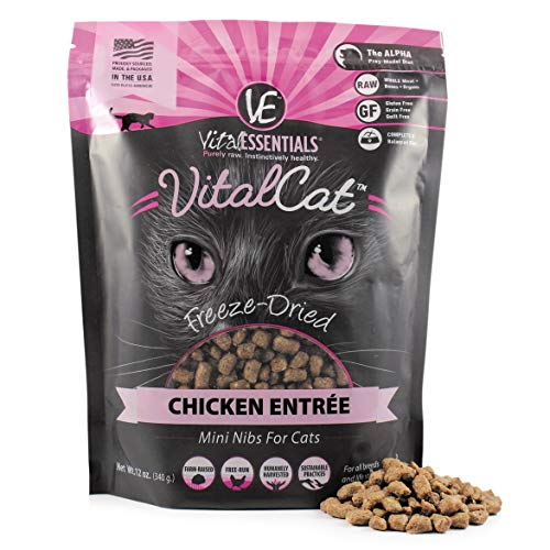 Vital Cat Vital Essentials Freeze-Dried Chicken Mini Nibs